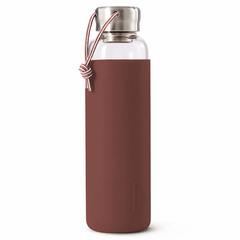 Бутылка для воды стеклянная 600 мл бордовая Black+Blum GR-WB-M004