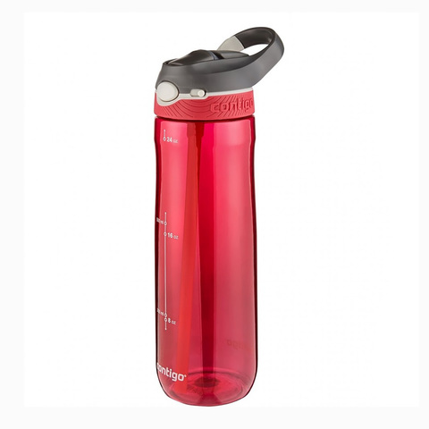 Бутылка Contigo Ashland (0.72 литра) красная