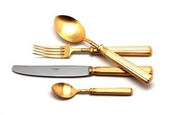 Набор столовых приборов (72 предмета / 12 персон) Cutipol LINE GOLD 9172-72