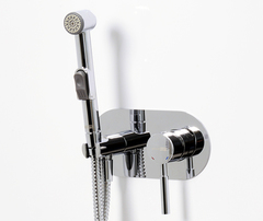 Main 4138 Встраиваемый смеситель для душа с гигиенической лейкой WasserKRAFT Серия Main 4100