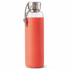 Бутылка для воды стеклянная 600 мл коралловая Black+Blum GR-WB-M011*