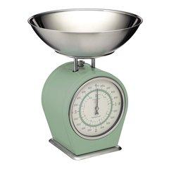 Весы кухонные металлические Living Nostalgia green Kitchen Craft LNSCALEGRN