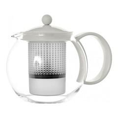 Чайник заварочный с прессом Bodum Assam 1 л. белый 1844-913