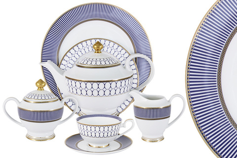 Чайный сервиз Адмиралтейский 42 предмета на 12 персон 47810