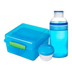 Набор ланчбокс (2 л) и бутылка (480 мл) Sistema LUNCH 41580