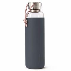 Бутылка для воды стеклянная 600 мл серая Black+Blum GR-WB-M015