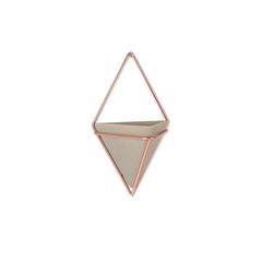 Декор для стен Trigg малый бетон-медь Umbra 470753-633
