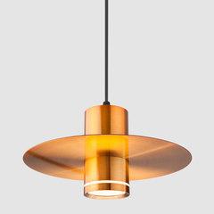Подвесной светодиодный светильник 50155/1 LED бронза Eurosvet
