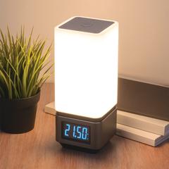 Smart-лампа с Bluetooth-колонкой 80418/1 серебристый Eurosvet