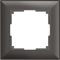 Рамка на 1 пост (серо-коричневый) WL14-Frame-01 Werkel