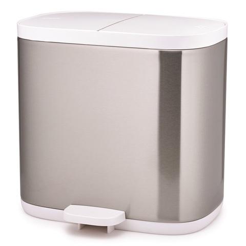 Контейнер для мусора Split™ для ванной комнаты нержавеющая сталь Joseph Joseph 70520