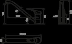 Смеситель для кухни OMOIKIRI Kado-WH (4994164)