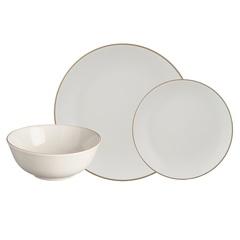 Набор обеденной посуды Classic 12 предметов серый Mason Cash 2001.898
