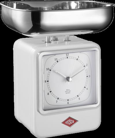 Весы с часами Wesco 322204-01