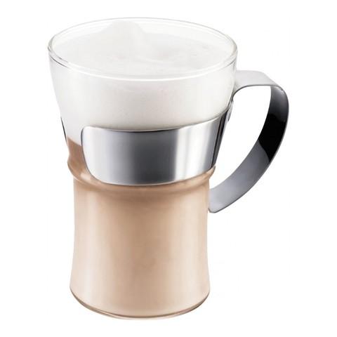Набор кружек чайных Bodum Assam 0,35 л. 2 шт. хром