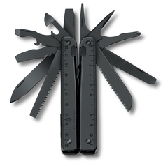 Мультитул Victorinox SwissTool BS, 115 мм, 29 функций, чёрный, нейлоновый чехол 3.0323.3CN