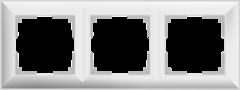 Рамка на 3 поста (белый) WL14-Frame-03 Werkel