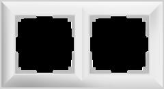 Рамка на 2 поста (белый) WL14-Frame-02 Werkel