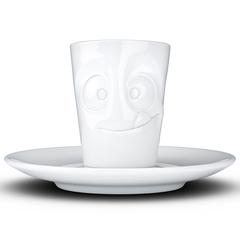 Кофейная чашка с блюдцем Tassen Tasty 80 мл белая T02.14.01