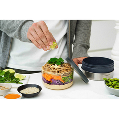 Ланч-бокс Glass Lunch Bowl серый 750 мл Black+Blum GR-LB-L015