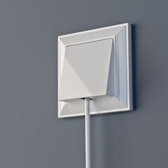 Рамка на 1 пост (белый) WL14-Frame-01 Werkel
