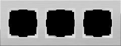 Рамка на 3 поста (алюминий) WL11-Frame-03 Werkel