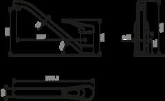 Смеситель для кухни OMOIKIRI Kado-CH (4994168)