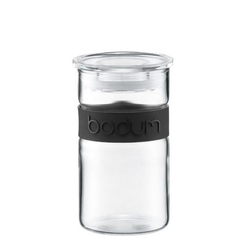 Банка для хранения Bodum Presso 0,25 л. черная