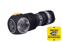 Мультифонарь светодиодный Armytek Elf C1 Micro-USB+18350, 980 лм, теплый свет, аккумулятор* F05001SW