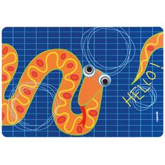 Коврик сервировочный детский Hello змея Guzzini 22606652S
