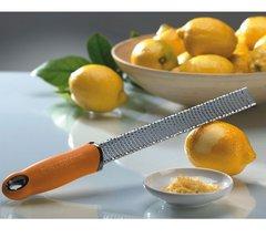 Терка Microplane Premium Classic для сыра и цитрусовых оранжевая 46820