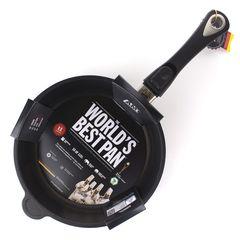 Сковорода глубокая 24 см, съемная ручка, AMT Frying Pans Titan арт. AMT I-724