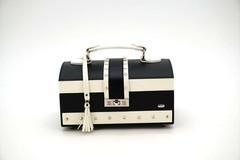 Шкатулка для украшений Jardin D'Ete, цвет чёрно-белый, матовый, 24,8 х 16 х 12,5 см P6209R