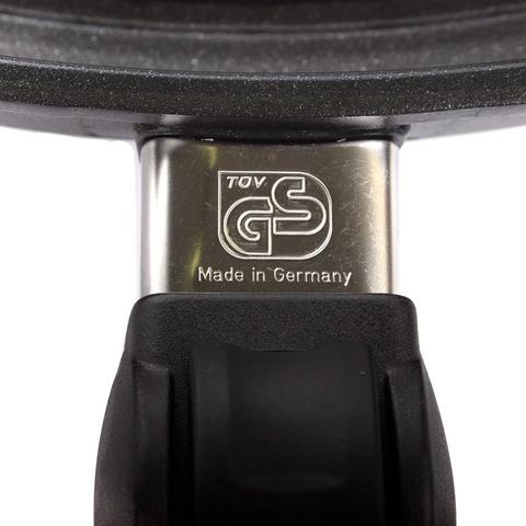 Сковорода гриль овальная 35х24 см съемная ручка AMT Frying Pans арт. AMT I-3524BBQ