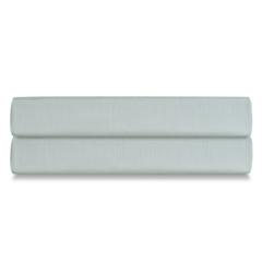 Простыня на резинке из сатина мятного цвета из коллекции Wild, 160х200х30 см Tkano TK20-FS0010