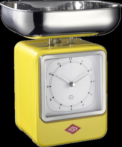 Весы с часами Wesco 322204-19