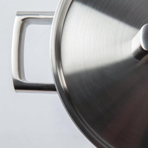 Кастрюля с крышкой 22см 4,3л (5-слойный материал) BergHOFF Ron 3900032