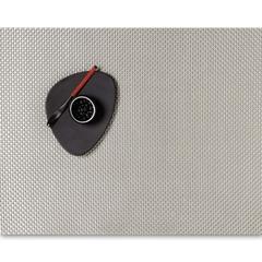 Салфетка подстановочная, жаккардовое плетение, винил, (36х48) Ice (100110-017) CHILEWICH Basketweave арт. 0025-BASK-ICEE
