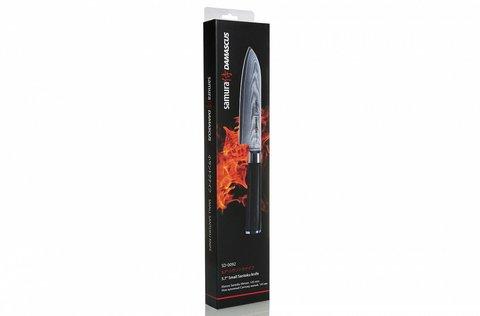 Нож кухонный стальной Сантоку Samura Damascus SD-0092/K