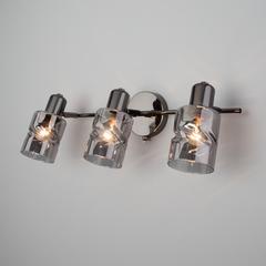 Настенный светильник с выключателем Eurosvet Ansa 20120/3 чёрный жемчуг