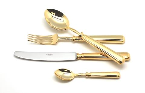 Набор столовых приборов (72 предмета / 12 персон) Cutipol PICCADILLY GOLD 9141-72