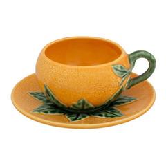 Чашка кофейная с блюдцем Bordallo Pinheiro
