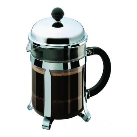 Кофейник френч-пресс Bodum Chambord 0,5 л. хром
