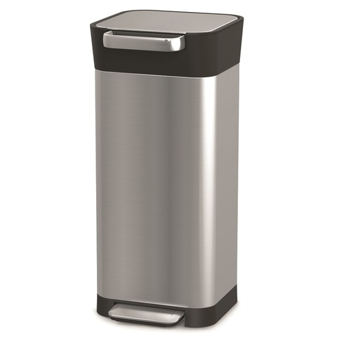Контейнер для мусора с прессом Titan 20 л нержавеющая сталь Joseph Joseph 30037