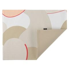 Cалфетка двухсторонняя под приборы из хлопка бежевого цвета с авторским принтом из коллекции Freak Fruit, 35х45 см Tkano TK20-PM0005