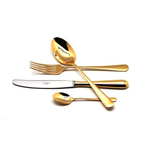 Набор столовых приборов (24 предмета / 6 персон) Cutipol ALCANTARA GOLD 9291