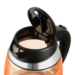 Чайник электрический Starwind (1,8 литра) 2200 Вт, LED подсветка, оранжевый SKG2212
