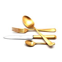 Набор столовых приборов (24 предмета / 6 персон) Cutipol ATLANTICO GOLD 9202