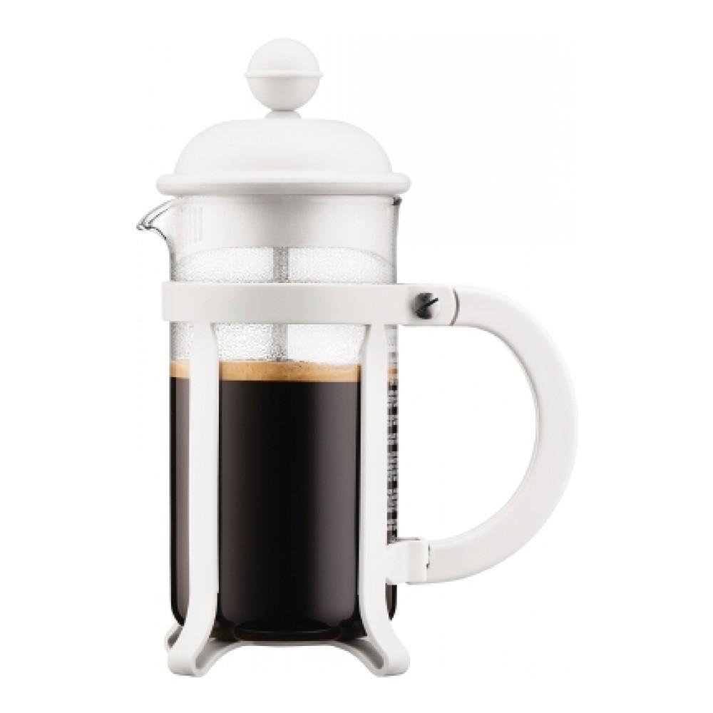 Кофейник френч-пресс Bodum Java 0,35 л. белый