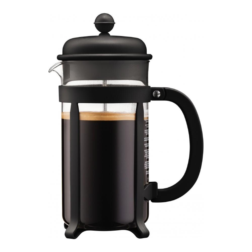 Кофейник френч-пресс Bodum Java 1 л. черный